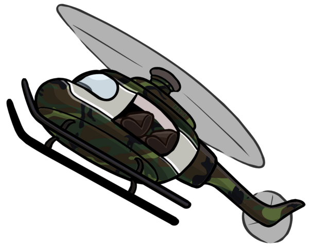 File:Camouflage Helicopter Fanart.png