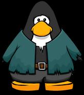Frankenpenguin Costume on a Player Card