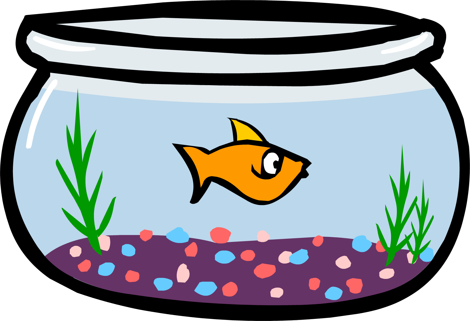 fish bowl  furniture  club penguin wiki fandom powered fish bowl clip art template fishbowl clip art images
