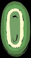Green Oval Rug