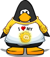 IHeartMyGoldPuffleTShirtPlayercard