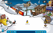Pirate ski village