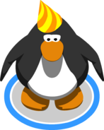 2nd party hat on cp