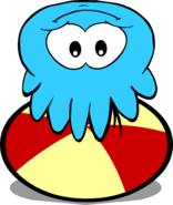 Blue Puffle playing again