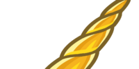 Golden Unicorn Horn