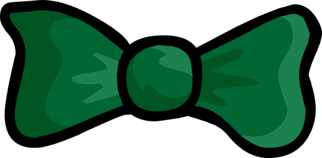 File:GreenBowtie.png