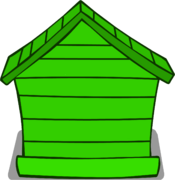 Green Puffle House sprite 003