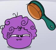 Purple puffle brush time