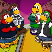 Penguin Band Background photo