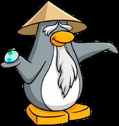 Sensei with an egg