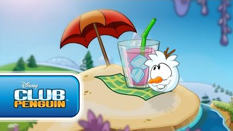 Club Penguin Frozen Party - In Summer - Music Video