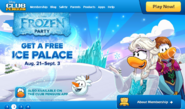 FROZEN LOGIN