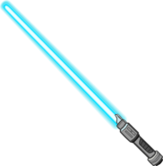 Blue Lightsaber icon