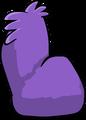 Fuzzy Purple Couch sprite 005