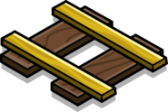 Gold Railroad Piece sprite 001
