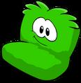 Fuzzy Green Couch sprite 013