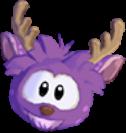 Purple deer 3d icon
