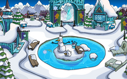 Frozen Fever Party 2015 Snow Forts frozen