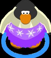 Snowy Sky Dress CU IG