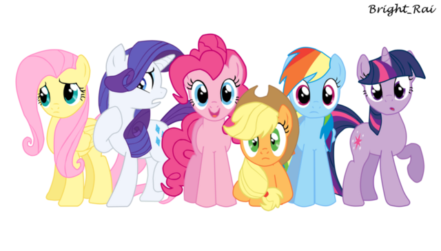 File:The mane six by brightrai-d4ha5ye.png
