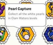 Pearl capture stamp book