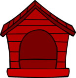 Red Puffle House