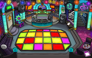 Operation Puffle construction Dance Club