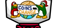 Coins For Change Donation Station