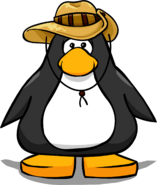 Outback Hat from a Player Card