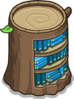 Stump Bookcase sprite 061