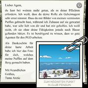 Letter from Aunt Arctic full award de