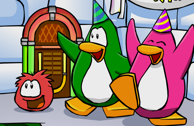File:Penguin wearing Party Hats.png