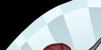 Snow Rose Fan