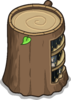 Stump Bookcase sprite 053