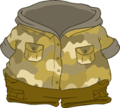 Camo Hoodie icon