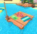 Coconut Cove floating deck