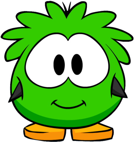 File:Green Puffle Costume on a Player Card.png