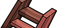 Short Wooden Steps