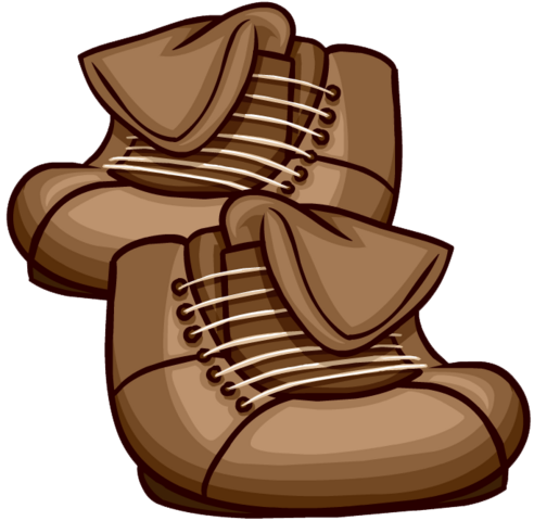 File:Brown Leather Boots clothing icon ID 6159.png
