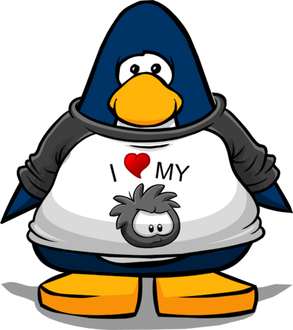 File:I Heart My Black Puffle T-Shirt player card.png