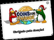 Coins For Change Card full award pt