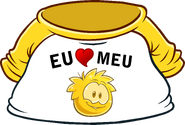 I Heart My Gold Puffle T-Shirt icon pt