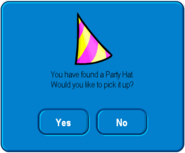 Party Hat pick up