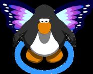 Purple Butterfly Wings CU IG