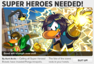SUPER HEROES NEEDED