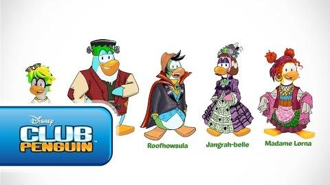 Club Penguin Halloween Panic- Behind the Scenes