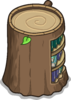 Stump Bookcase sprite 043