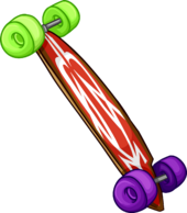 Red Longboard icon