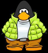 Toboggan Suit on Player Card