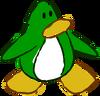 Doodle Dimension penguin Green